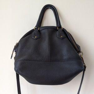 [MADEWELL] Pebbled Black Leather Bag